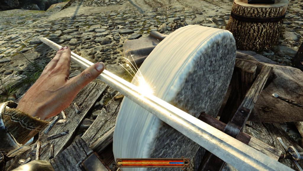 Broušení meče