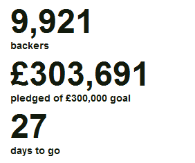 Úspěch na Kickstarteru