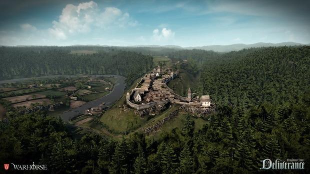 Vesnice na kopci