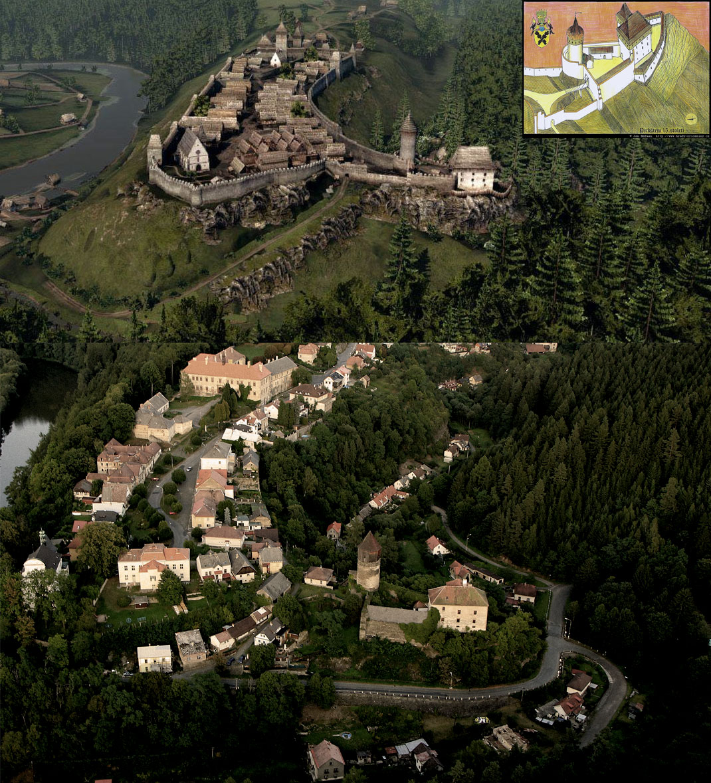 Vesnice Rataje