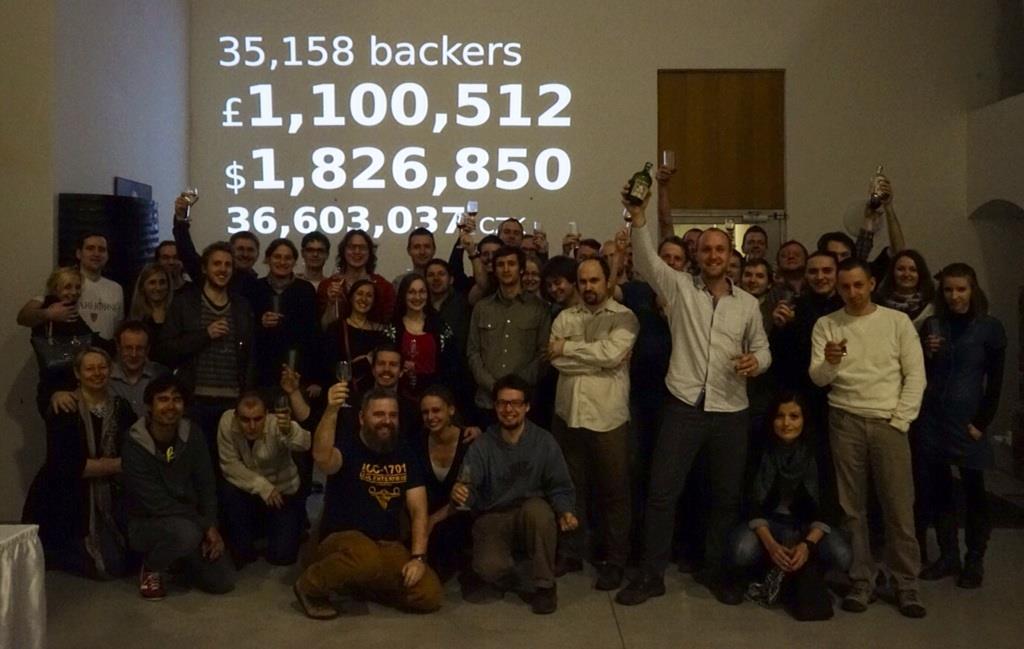 Konec Kickstarter kampaně